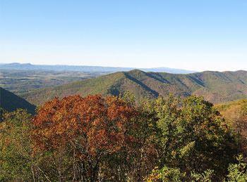 Blue Ridge Mountains, where the Waltons lived