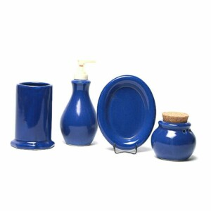 American Blue Bathroom Set
