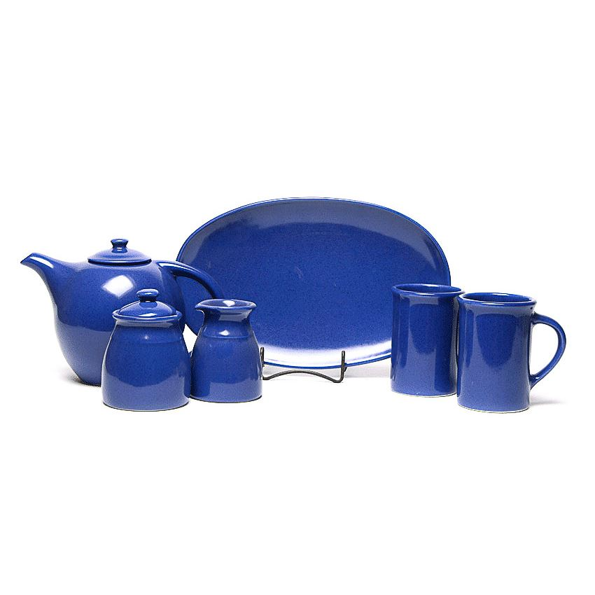 American Blue Tea Set