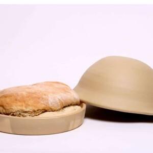 Bread Baking Cloche - Unglazed