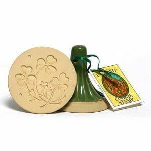 Celtic Shamrock Cookie Stamp
