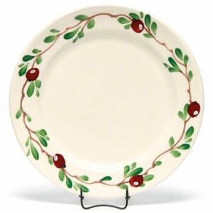 Cranberry Classic Dinner Plate