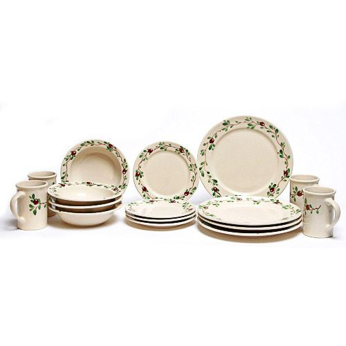 cranberry-classic-dinner-plate-set-for-four