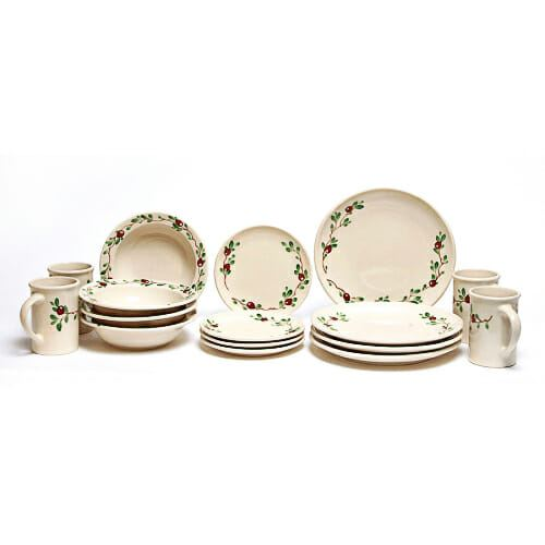 cranberry-coupe-dinner-plate-set-for-four