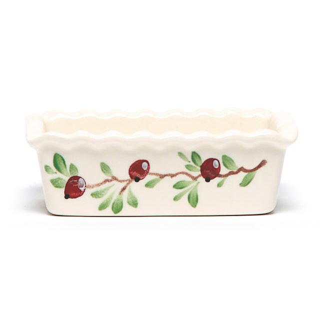 Cranberry Small Loaf Pan