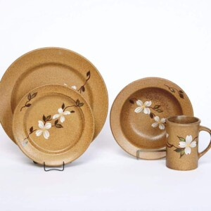 Dogwood Classic Dinner Plate Set for One
