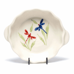 Dragonfly Small Casserole Dish