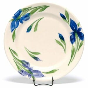 Field of Iris Classic Dinner Plate