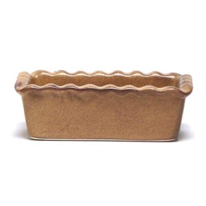 Go Green Earthware Small  Loaf Pan