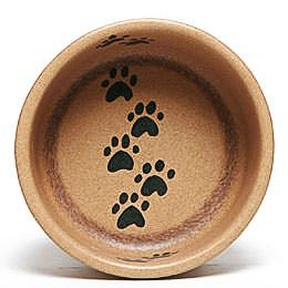 Go Green Walking Paws Large Pet Bowl