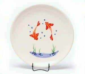 Goldfish Child's Plate