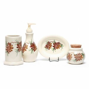 Pinecone Bathroom Set