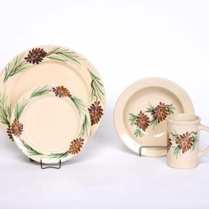 Pinecone Classic Dinner Plate Set for One