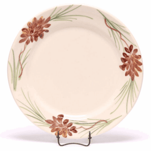 Pinecone Classic Salad Plate