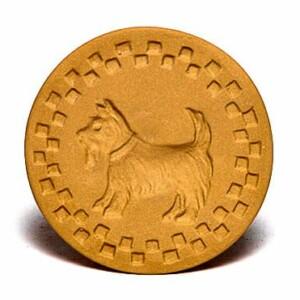 Scottie Dog Cookie Stamp