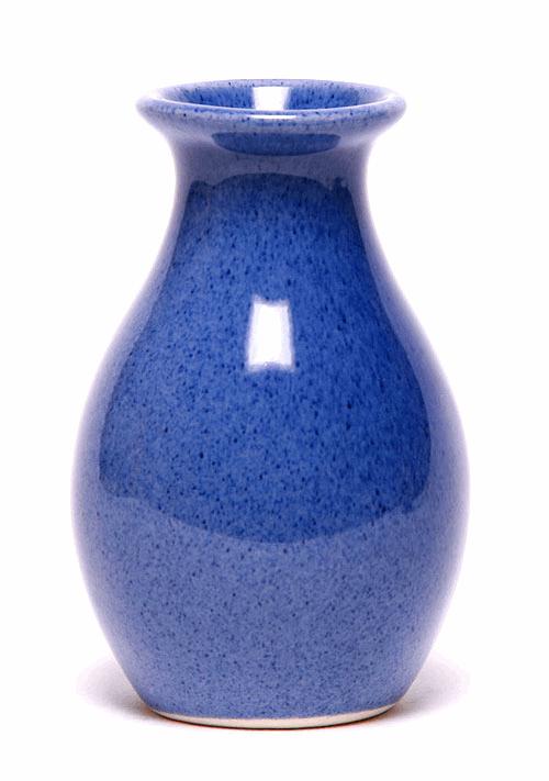 American Blue Bud Vase Emerson Creek Pottery