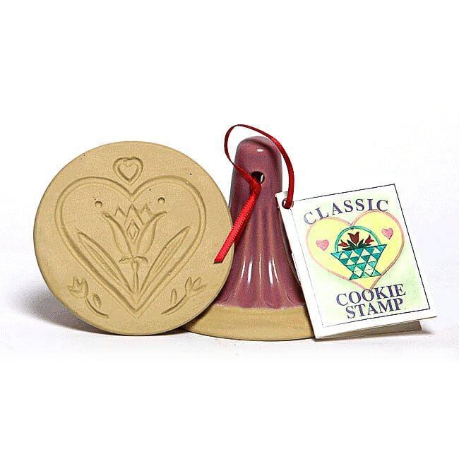 Tulip Heart Cookie Stamp