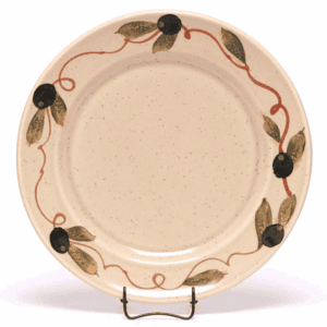 Tuscan Olive Classic Salad Plate