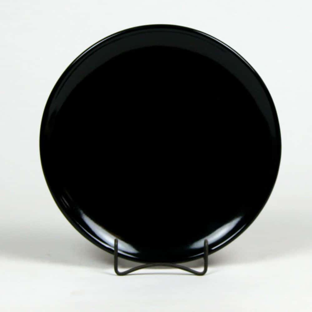 onyx-black-coupe-dinner-plate
