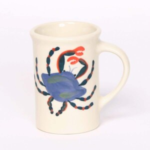 Blue Crab Tea Cup