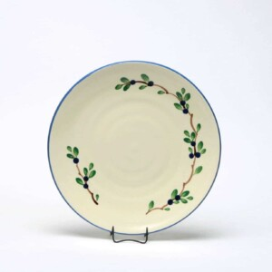 Blueberry Craftline Salad Plate