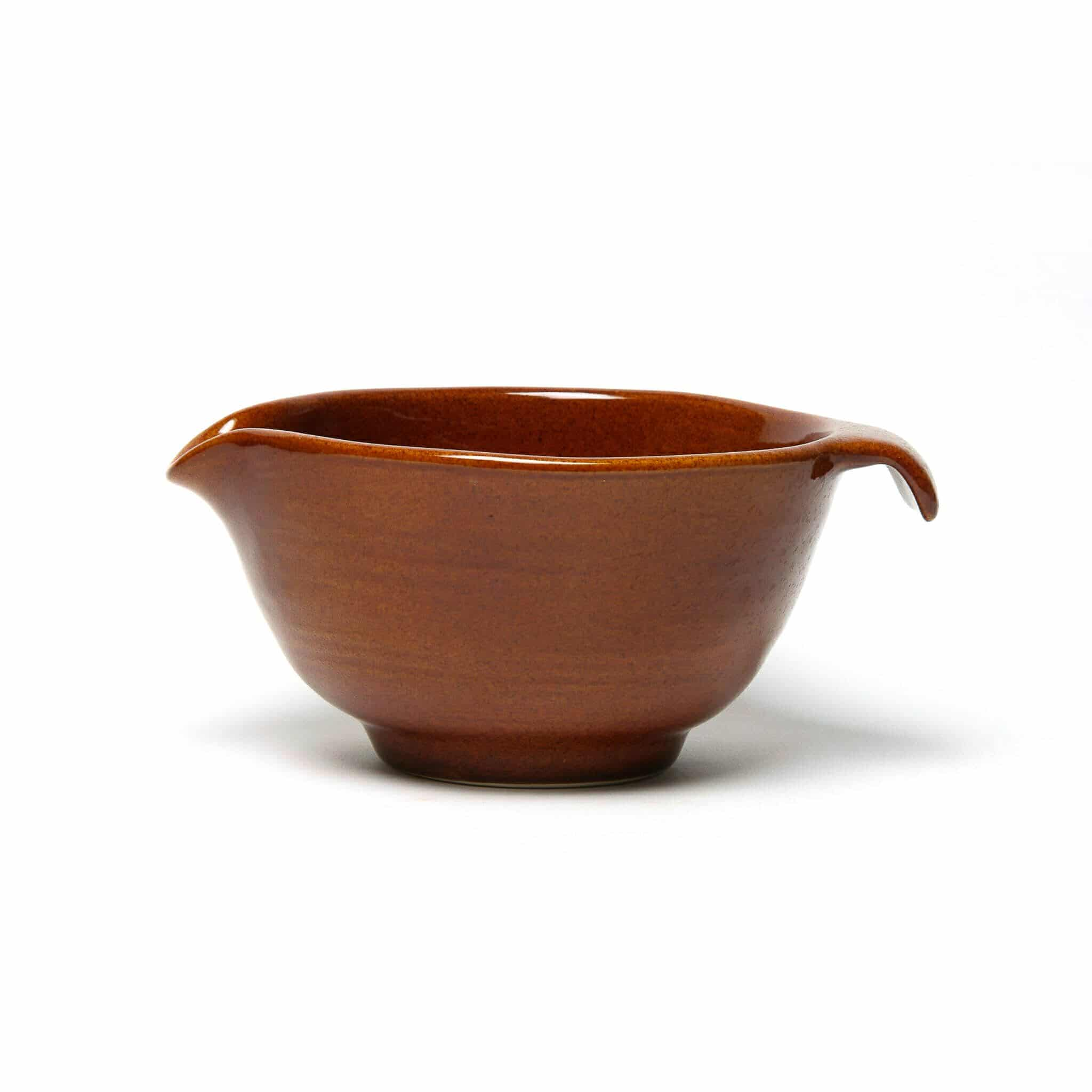 Copper Clay Batter Bowl