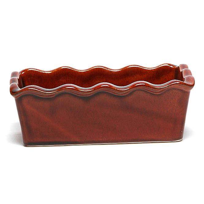 Copper Clay Large Loaf Pan