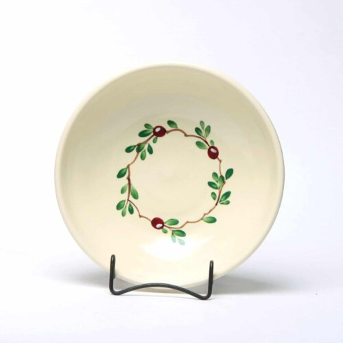 Cranberry Craftline Bowl