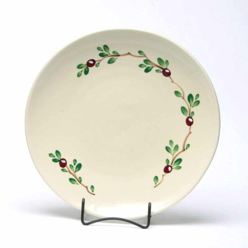 Cranberry Craftline Dinner Plate