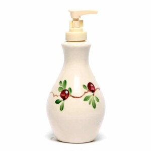Cranberry Soap/Lotion Bottle