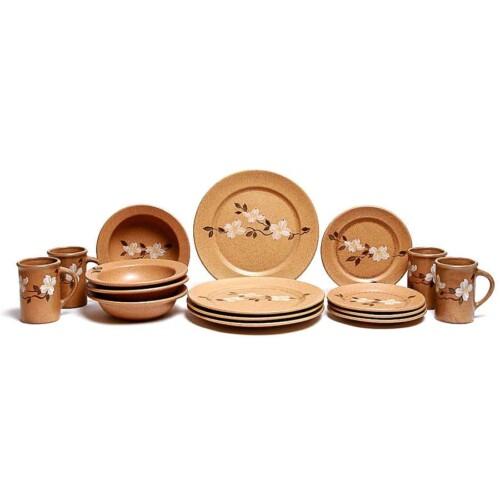 Dogwood Classic Dinner Plate Set for Four