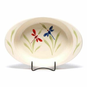 Dragonfly Large Casserole Dish