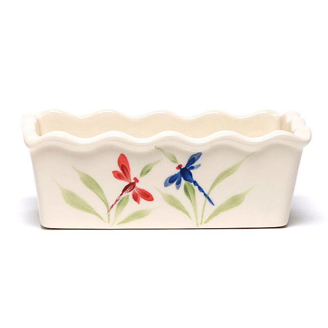 Dragonfly Large Loaf Pan