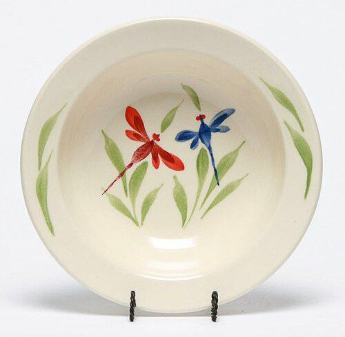 Dragonfly Soup Bowl