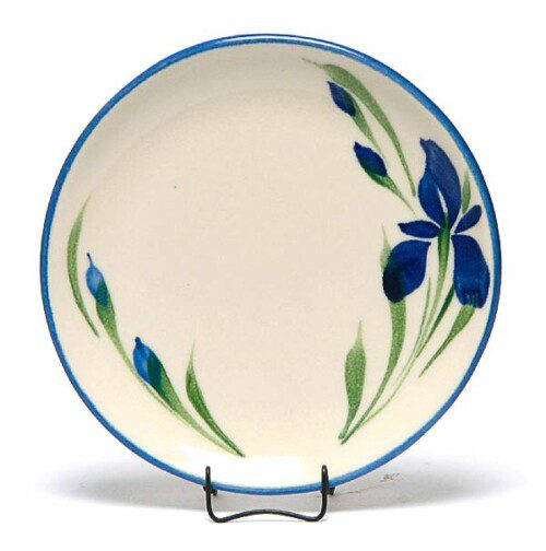 Field of Iris Coupe Salad Plate