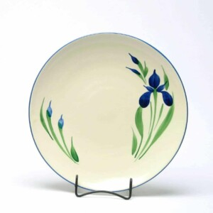 Field of Iris Craftline Dinner Plate
