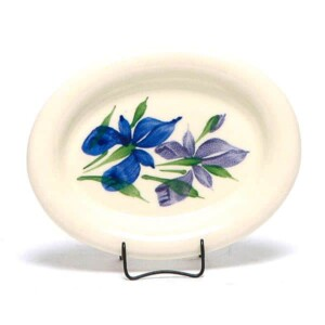 Field of Iris Soap Dish