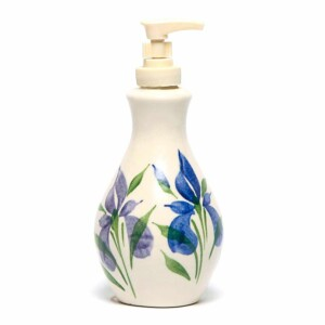 Field of Iris Soap/Lotion Bottle