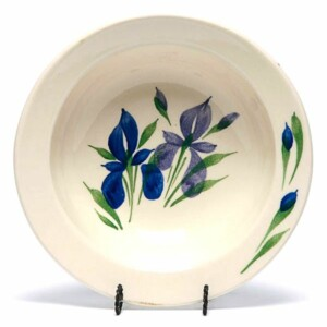 Field of Iris Soup Bowl