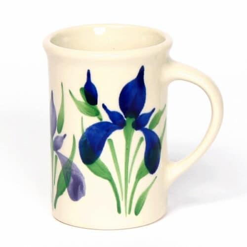 Field of Iris Tea Cup