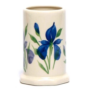 Field of Iris Toothbrush Holder