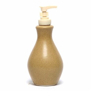 Go Green Earthware Soap/Lotion Bottle