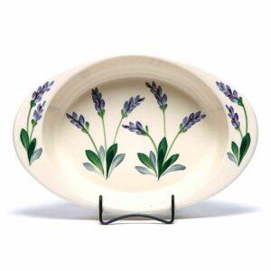Lavender Large Casserole Dish