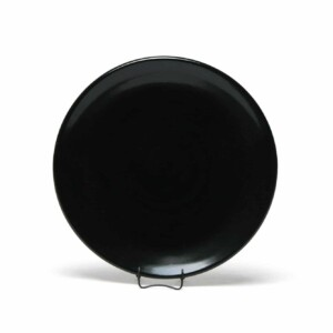 Onyx Black Craftline Salad Plate