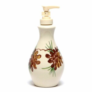 Pinecone Soap/Lotion Bottle