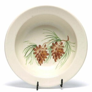 Pinecone Soup Bowl