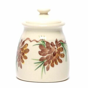 Pinecone Sugar Jar