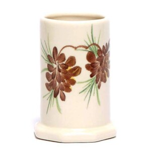 Pinecone Toothbrush Holder