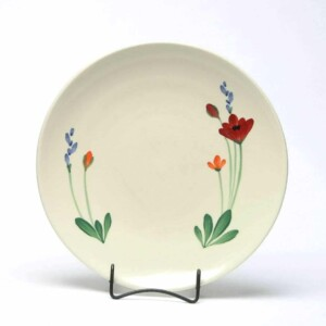 Red Poppy Craftline Dinner Plate