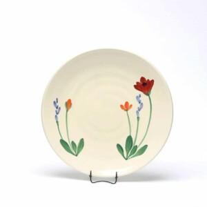 Red Poppy Craftline Salad Plate